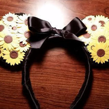 Daisy Mickey ears headband