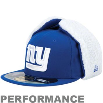 best website 26a99 8e3a0 New Era New York Giants On-Field Dog Ear 59FIFTY Fitted Performance Hat -  Royal