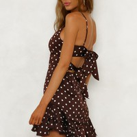 Tale Of Two Cities Dress Brown