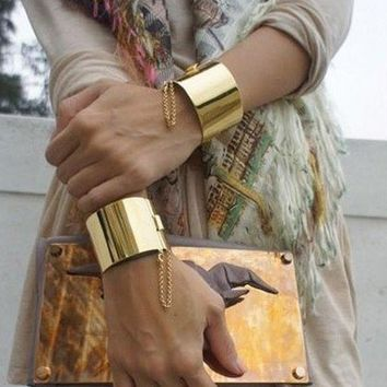 Gold or Silver Wrist Bangles