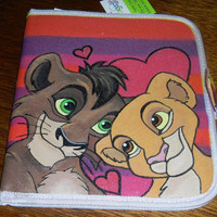 Hand Painted The Lion King II Simba's Pride Kiara & Kovu Tablet Ipad 1 2 3 Case Cover Galaxy
