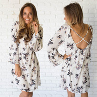 Lovely Lily Print Shift Dress