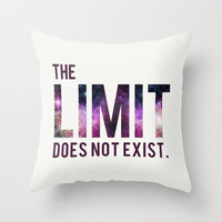 The Limit Does Not Exist - Mean Girls quote from Cady Heron Throw Pillow by AllieR | Society6
