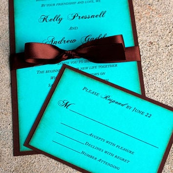 Best Tiffany Blue Wedding Invitations Products on Wanelo