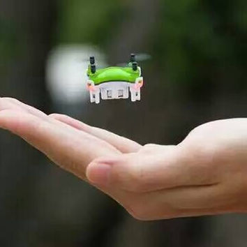 2016 New Product Mini Drones 2.4G 4CH Pocket Drone Small Quadcopter 3D Roll  Light Remote Control Helicopter for Kids