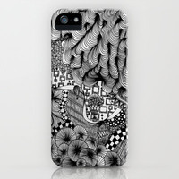 Infinity (Blackbook No. 2) iPhone & iPod Case by Lindsay Smithberg