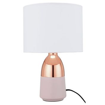 Buy HOME Duno Touch Table Lamp - Pink & Copper | Table lamps | Argos