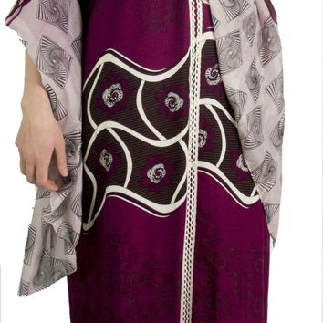 Sakkas Sabra Womens Long Casual Cover-up Tunic Kaftan V neck Dress Comes w/Scarf