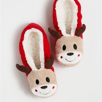 Rudolph Non-Skid Slipper Socks