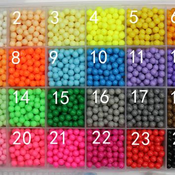 200pcs /bag Aqua beads kids toys available 100%quality guarantee perler beads activity fuse beads PUPUKOU