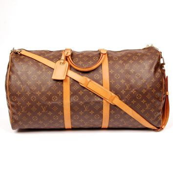 Louis Vuitton Keepall Weekend/Travel Bag 5608 (Authentic Pre-owned)
