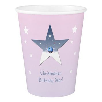 Star Template Paper Cup