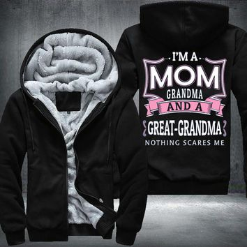 Nothing Scares Me G-Ma Fleece Jacket