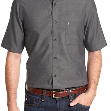 'Classic' Regular Fit Short Sleeve Cotton Sport Shirt