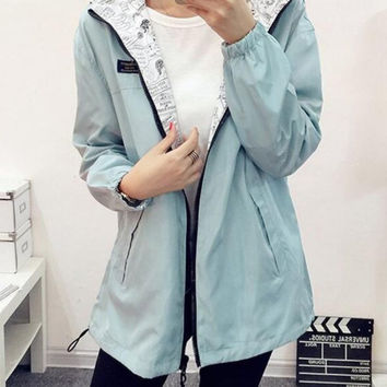 Jackets Women 100% High Quality basic coats New Jacket Women's bomber Jacket Women Fashion Thin Windbreaker Women