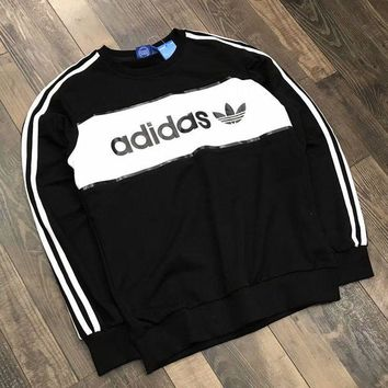 LMFUX5 ADIDAS Woman Men Fashion Top Sweater Pullover-1