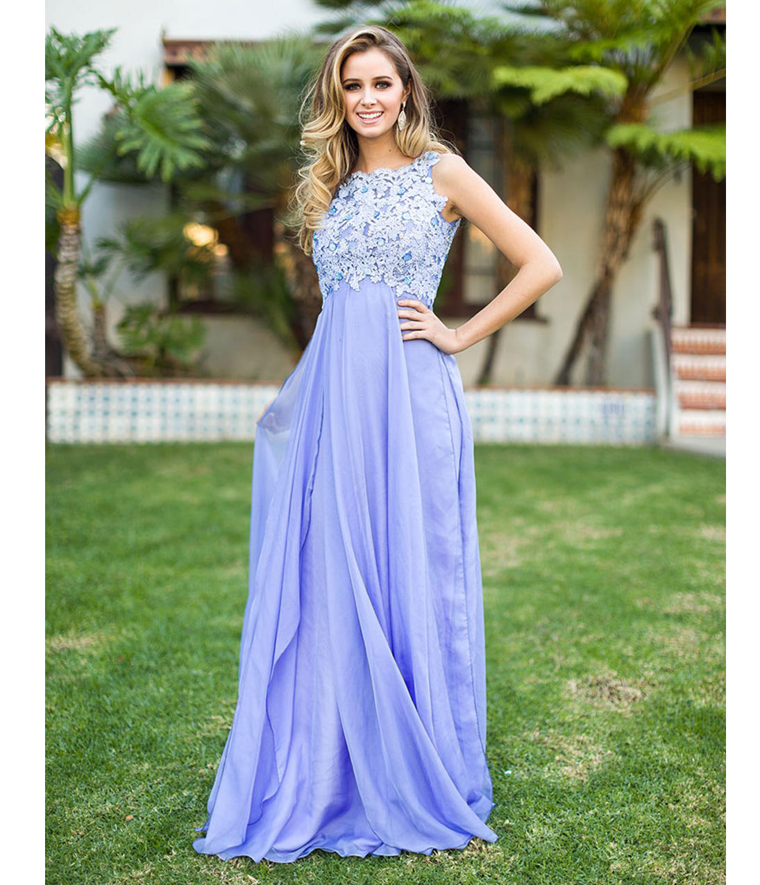Preorder Periwinkle Empire Waist from Unique Vintage