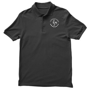 awesome sauce asian humor rooster funny cool Polo Shirt