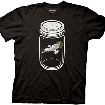 Firefly Ship In A Jar T-shirt
