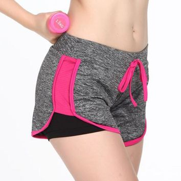Summer QUICK-DRY Push up Gymming Fitness Women High Waist Shorts For Workout Yogaing Sporting Slimming Beach Board Runs Exercise
