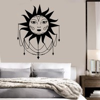 Vinyl Wall Decal Sun Art Home Room Decoration Stickers Mural Unique Gift (ig3737)