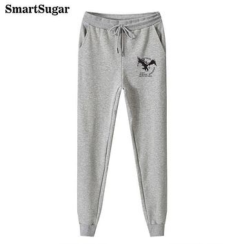 SMARTSUGAR 2017 New Fashion Male Joggers Trousers Pants Mens Autumn Winter Fleece High Quality Hip Hop Casual Sweatpants For Men