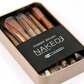 Brush Tool Powder Foundation Eyeshadow Lip New 12pcs Makeup Cosmetic Brushes Set