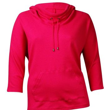 Style & Co Sport Women's Thermal Cowl Neck Sweater