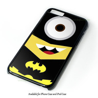 Despicable Me Batman Minion Design for iPhone and iPod Touch Case
