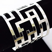 Maze Cuff Bracelet(Gold Also Available)