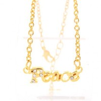 Gold Peace Anklet
