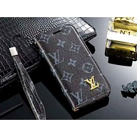 LV & GUCCI & Burberry Tide brand all-inclusive anti-drop iphone7 mobile phone case #2