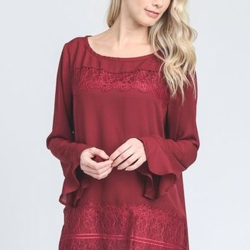 Holly Lace Shirt