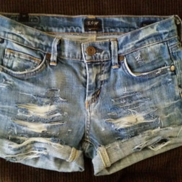 Citizens of Humanity distressed shorts
