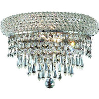 Adele - Wall Sconce (2 Light Modern Crystal Wall Sconce) - 1531W12