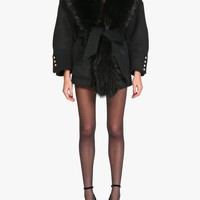 Balmain - Wool and cashmere blend coat - Women's coats
