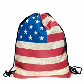 American Force: Sling Drawstring Sackpack Backpack
