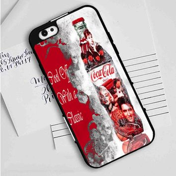 Coca Cola (beatles-monroe) iPhone Case