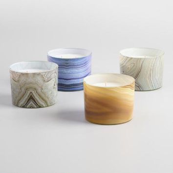 Agate Jar Candle Collection