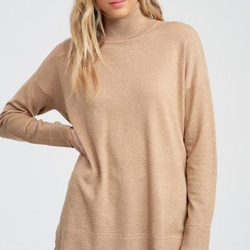Simple Favor Sweater - Toffee