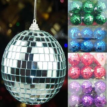 100% Glass mirror ball,Silver snooker flash ball,Club disco Dance Flash ball,mirror reflection Festival party ornament ball