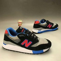 QIYIF new balance 998 men sport casual n words multicolor retro sneakers running shoes