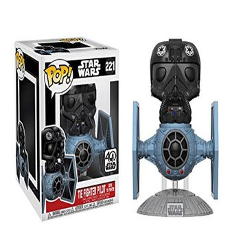 Funko Deluxe Tie Fighter w/ Tie Pilot POP! Vinyl Figure