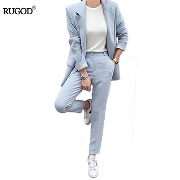 Womens Blazers Pants Suit
