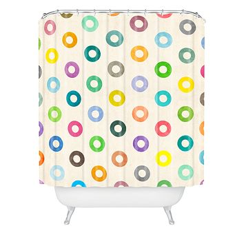 Nick Nelson Auras Shower Curtain