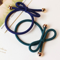 Hair Ring Hair Rope Elastic Braided Tonytail Wrap Hairband Fastening Accessories Synthetic Headwear Ponytails Holder