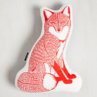 Dorm Decor Squad Goals Pillow in Red Fox by ModCloth