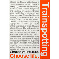 Trainspotting - Domestic Poster
