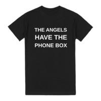 DR WHO ANGELS HAVE THE PHONE BOX