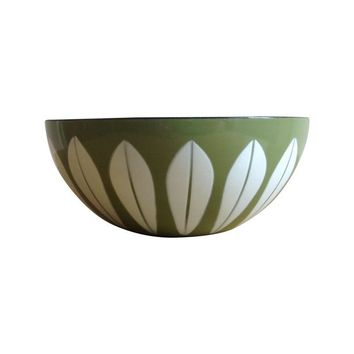 Pre-owned Cathrineholm Enamel Lotus Bowl